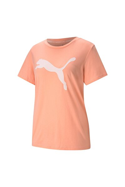 EVOSTRIPE TEE Somon Kadın T-Shirt 101085395