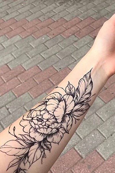 Geçici Çiçek Dövme Tattoo