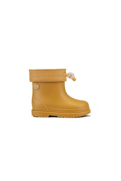 Unisex Çocuk Sarı Bımbı Mc Mostaza Mustard  Bot W10237-080