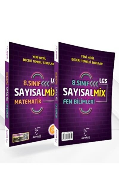Karekök 8. Sınıf Lgs Sayısal Mix Matematik