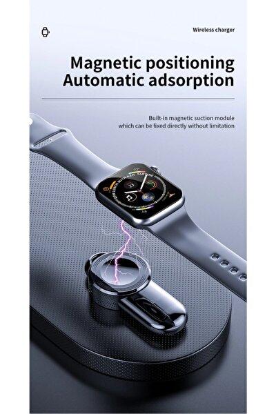 Apple Watch Için 6 Se 5 4 Için Taşınabilir Kablosuz Şarj Cihazı Şarj Aleti Usb