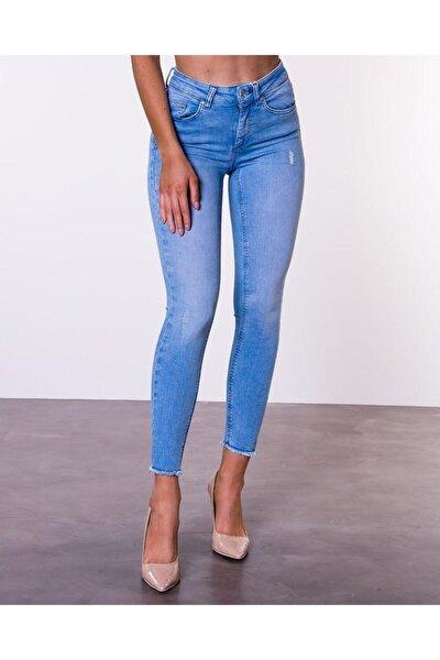 Blush Yüksek Bel Skınny Jeans