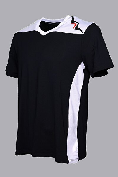 Garnili Interlok Nefes Alabilir Kumaş Lacivert Spor T-shirt