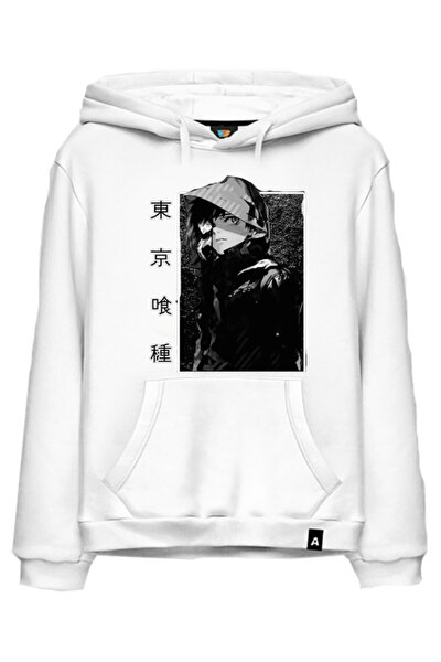 Anime Karakter Baskılı Naruto Hoodie Kapşonlu Sweat Model988