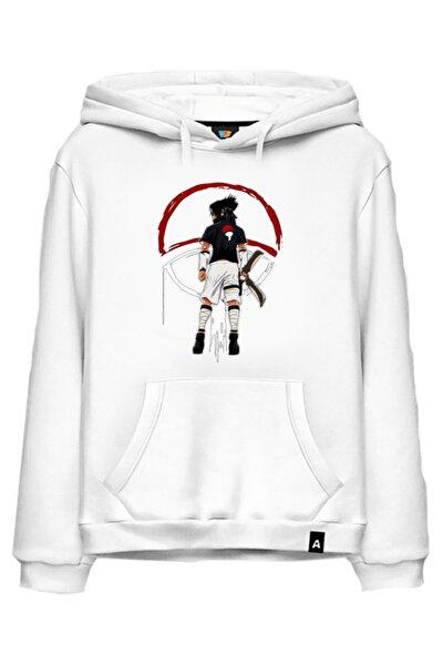 Kakashi Naruto Anime Baskılı Kapşonlusweatshirt Hoodie Model995