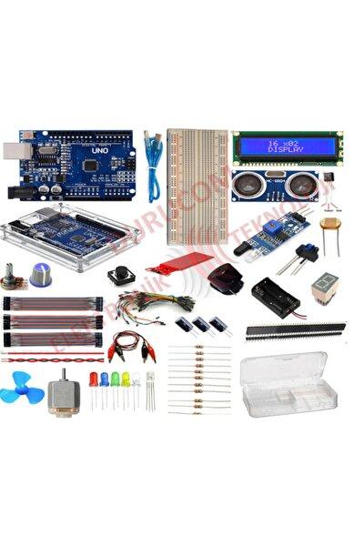 Uno R3 Başlangıç Seti 51 Parça 181 Adet Eco Set