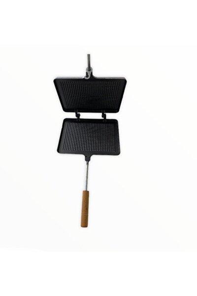 - Nur Metal Yeni Model Iç Teflon El Tost Makinesi - Ocak Üstü El Tost - Izgara