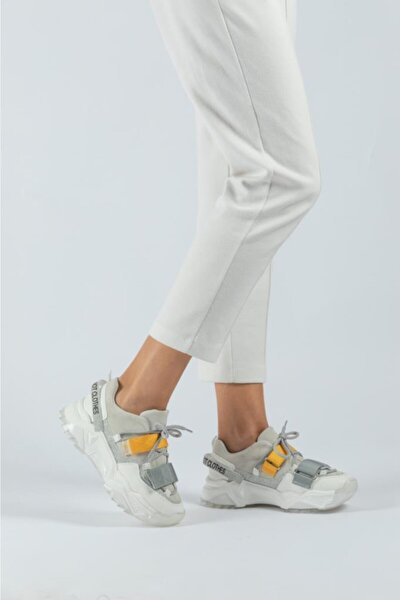 Kadın Dolgu Taban Günlük Sneaker Ayakkabı