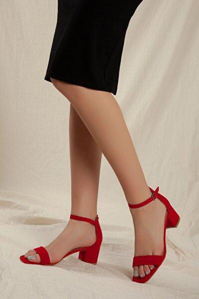 Kadın Klasik Düşük Topuklu Tekbant D0225