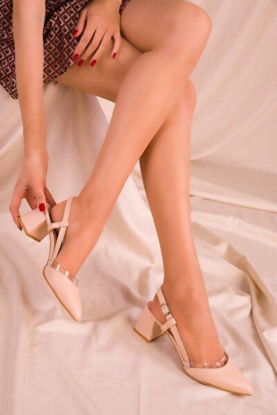 Ten Kadın Klasik Topuklu Ayakkabı 14656