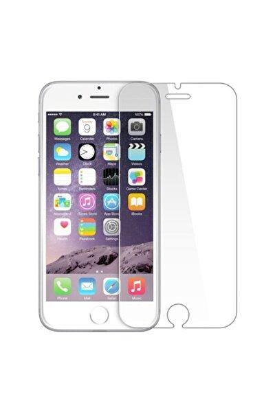 Iphone 6/6s Uyumlu 9h Temperli Kırılmaz Cam Sert Şeffaf Ekran Koruyucu