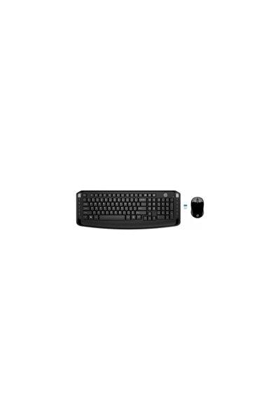 300 Kablosuz Klavye & Mouse 3ml04aa Kombo Set - Siyah (Türkçe)