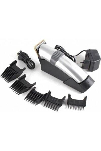 Standlı Şarjlı Tıraş Makinesi Saç Sakal Kesme Kiti Traş Makinası Seti Gm-609
