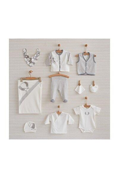Gri- Beyaz Filli 10 Lu Hastane Çıkış Seti