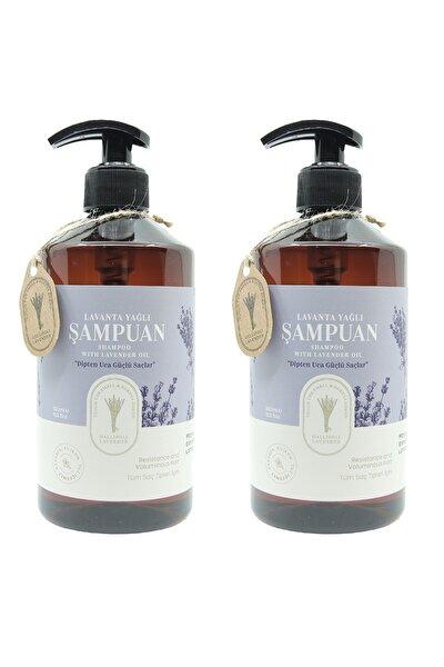 Lavanta Yağlı Şampuan 500 ml 2 Adet