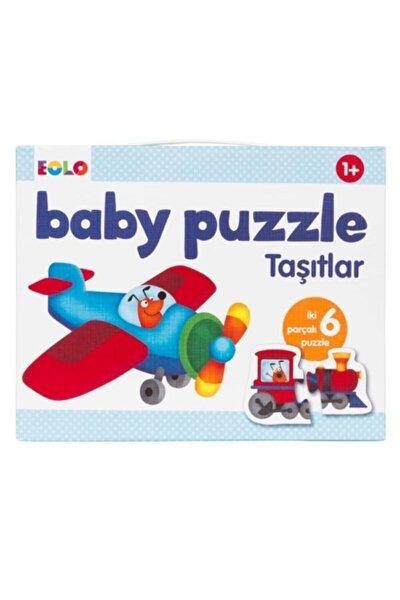 Taşıtlar Bebek Puzzle 12 Parça