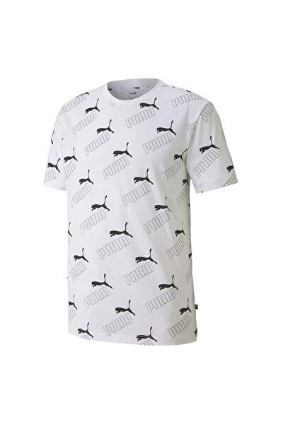 Amplıfıed Prınted Erkek Beyaz T-shirt