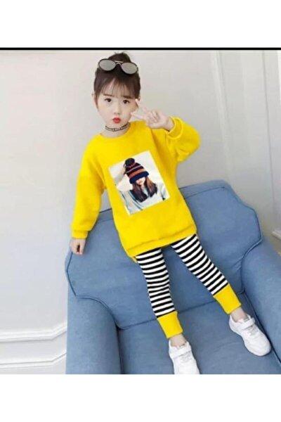Kız Çocuk Tayt Tunik Takım
