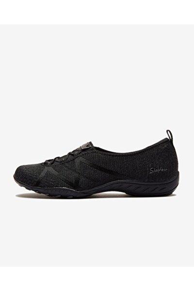 BREATHE-EASY - A-LOOK Kadın Siyah Spor Ayakkabı