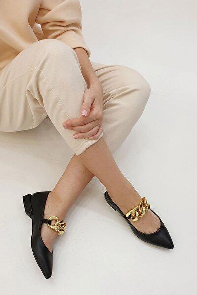 Kadın Siyah Babet Anorev