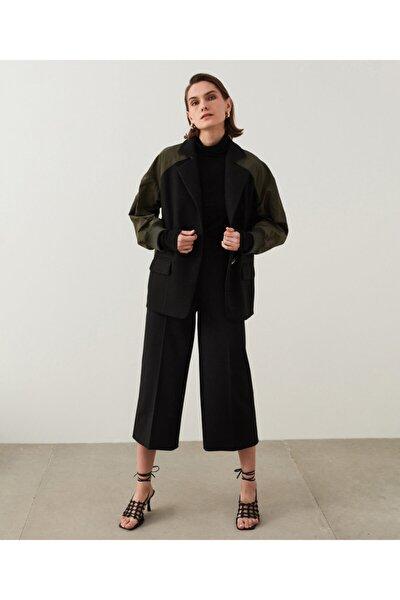 Kumaş Mixli Ceket