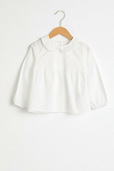 Kız Bebek Optik Beyaz E5X T-Shirt