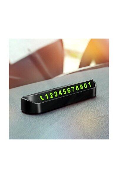 Araç Torpido Üstü Aç Kapa Numaratör Telefon Cam Kartı Parktel