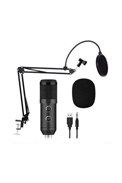 Stüdyo Youtuber Twitch Kayıt Mikrofonu,masa Standı,pop Filtre