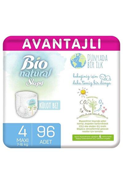 Bio Natural Avantajlı Külot Bez 4 Numara Maxi 96 Adet