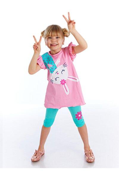 Kız Çocuk Sürpriz Tavşan Tunik Takım