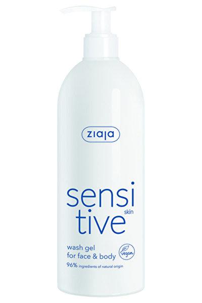 Sensitive Skin - Hassas Cilt Için Yüz Ve Vücut Kremli Yıkama Jeli 400 ml