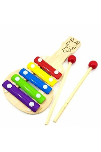 Ahşap Eğitici Öğretici Ksilafon Selefon Müzik Aleti Oyuncağı