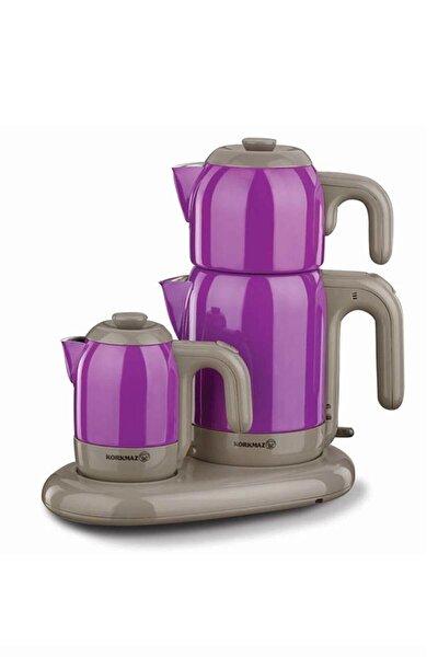 A353-07 Mia Mor/gri Çay Kahve Makinesi