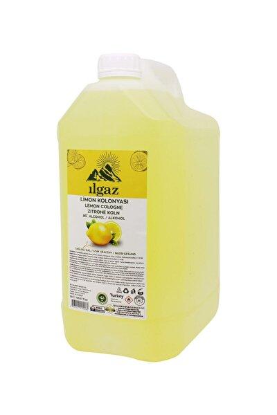 5 Lt 80 Derece Limon Kolonyası Bidon Limon Kolonyası Yüksek Alkollü Kolonya