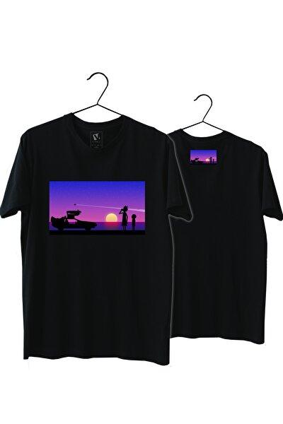 Back To Future Rick Sanchez Normal Kalıp Tişört