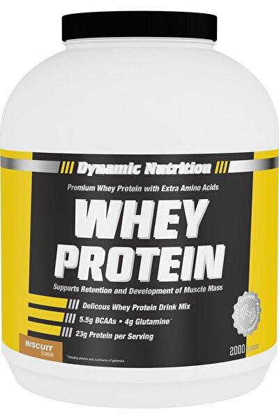 Whey Protein Tozu 2000 Gr (bisküvi Aromalı)
