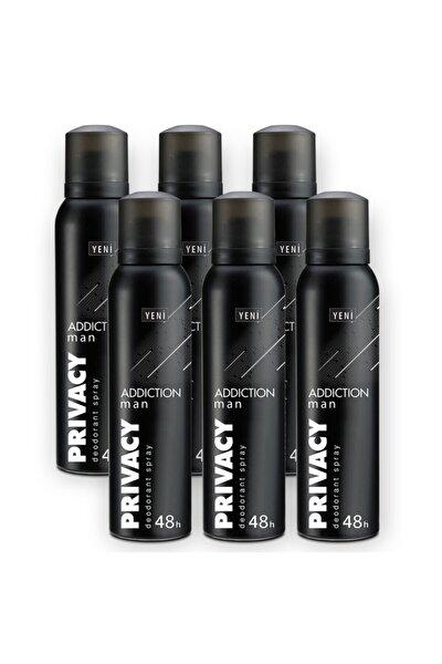 Man Addiction Erkek Deodorant 6x150ml