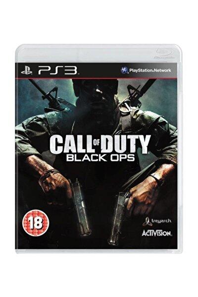 Playstation 3 Oyunu ( Call Of Duty Black Ops Ps3 ) Oyun Almanca Menü