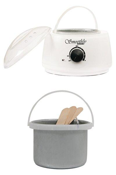 Isı Ayarlı Sir Ağda Makinesi, Kalıp Ağda Boncuk Ağda Konserve Ağda Uyumlu Ağda Kazanı Beyaz Renk