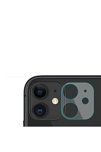 Iphone 11 Uyumlu Kamera Lens Koruyucu Cam