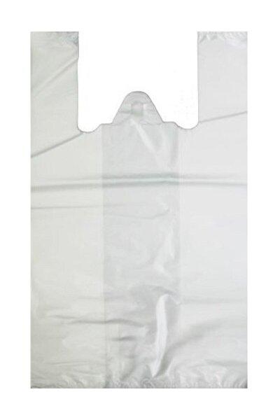 Hışır Atlet Market Poşeti-beyaz-orta Boy 28x50 Cm-1 Kg