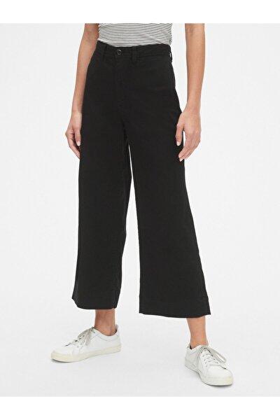 Yüksek Belli Wide Leg Chino Pantolon