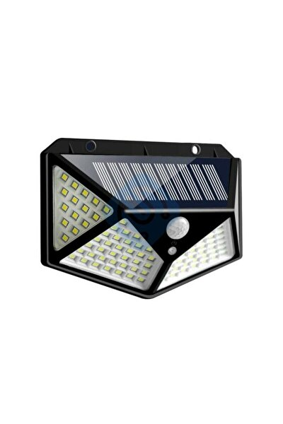 Teknoloji Solar Güneş Enerjili Hareket Sensörlü 4 Taraflı Bahçe Garaj Ev Aydınlatma Lambası