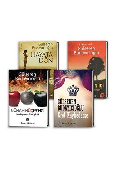 Gülseren Budayıcıoğlu 4 Kitap Set (Kral Kaybederse, Hayata Dön, Madalyonun Içi, Günahın Üç Rengi)