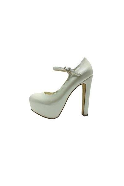 Topuklu Platform  Kadın  Ayakkabı - Sedef - 2138