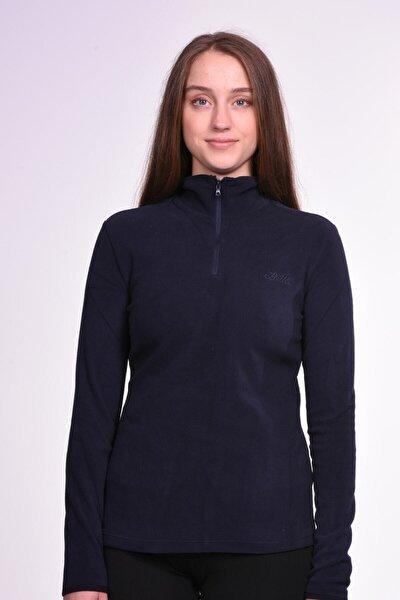 Kadın LacivertSpor Sweatshirt - T6467