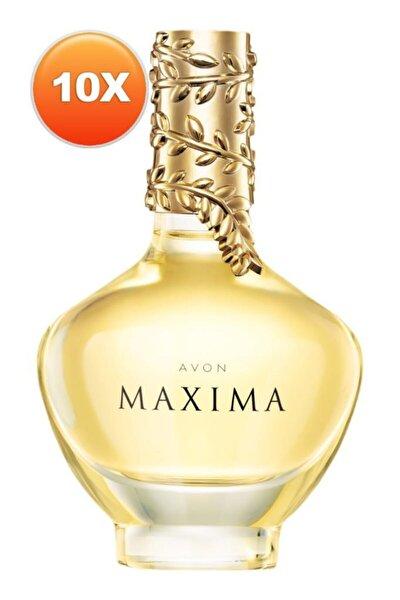 Maxima Kadın Parfüm Edp 50 ml Onlu Set