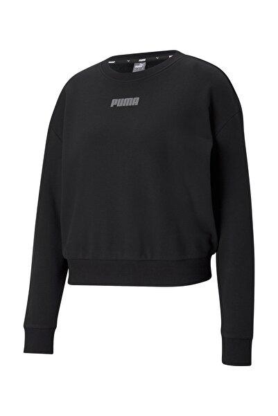 MODERN BASICS CREW TR Siyah Kadın Sweatshirt 101085566