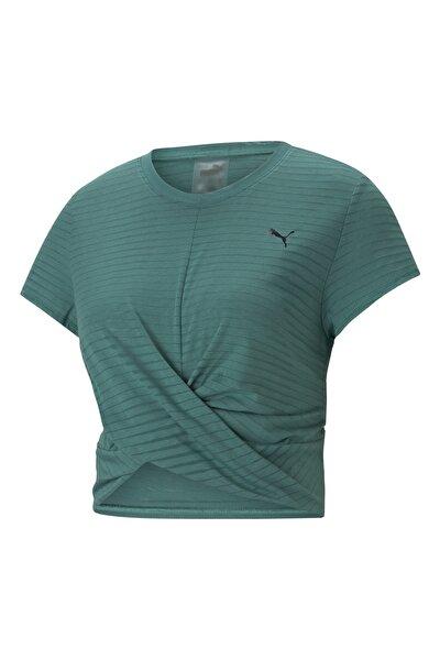 Kadın Spor T-Shirt - STUDIO TWIST BURNOUT - 52022845