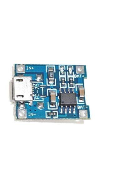 Tp4056 5v 1a Lı-pil Şarj Modülü (mikro Usb)